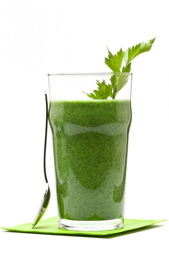 Almond Kale Honeydew Smoothie