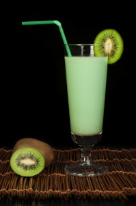 Almond Kiwi and Oat Protein Shake