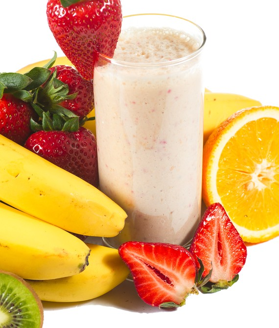 Protein and Mixed Fruit Smoothie