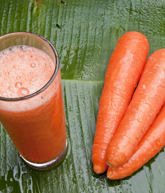Revitalizing Carrot Banana and Orange Juice