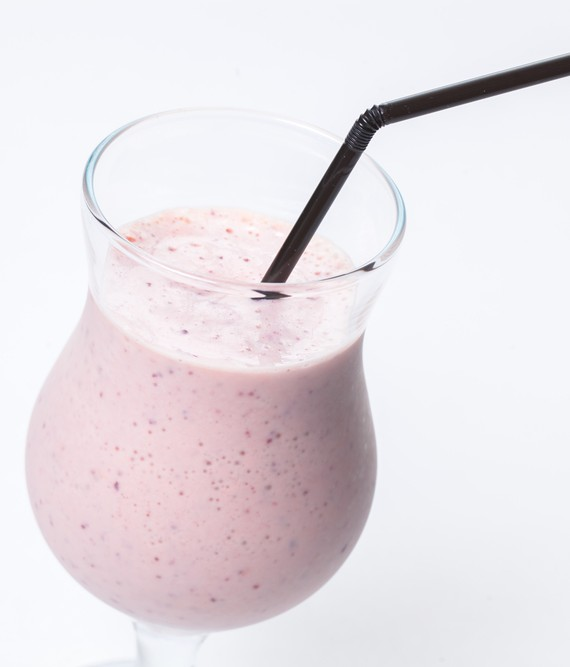 Simple Protein Smoothie with Cashews
