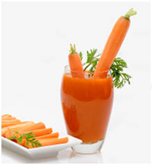 Orange Carrot and Cucumber Juice
