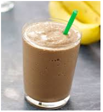 Choco Almond Banana Smoothie