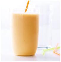 Nectarine Ginger Pistachio Smoothie