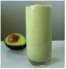 Avocado Protein and Pistachio Smoothie