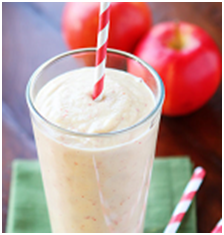 Goji Berry Apple Banana and Yogurt Smoothie