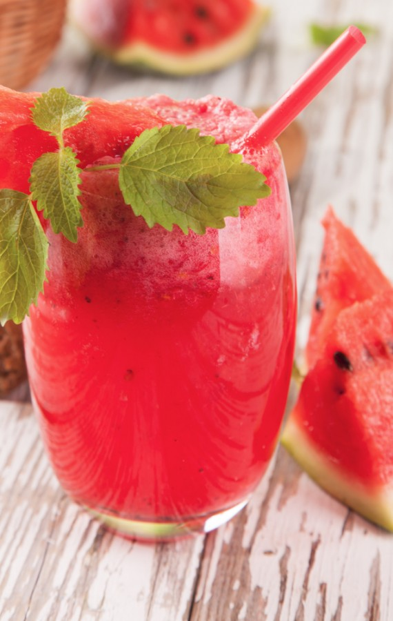 Watermelon Lychee and Lime Juice