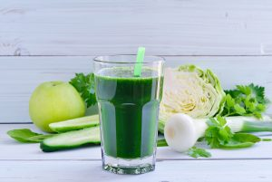 Apple Cabbage Cucumber and Parsley Juice