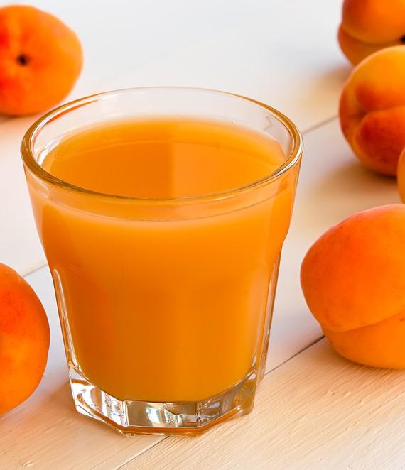 Apricot Orange and Apple Juice