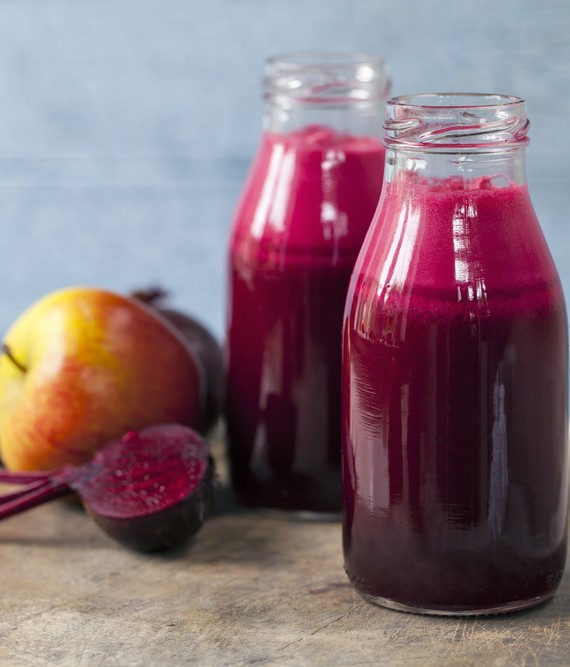 Beet Apple and Lemon Smoothie