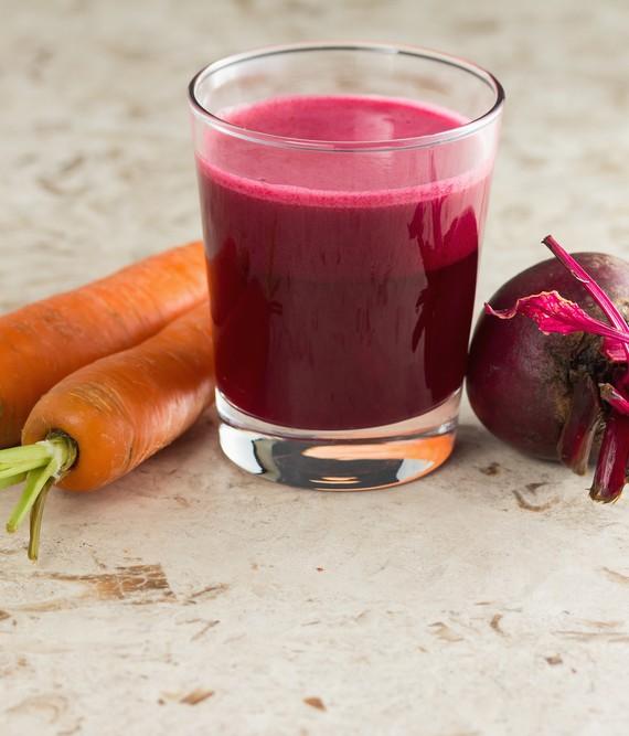 Beet Carrot and Lemon Detox Juice