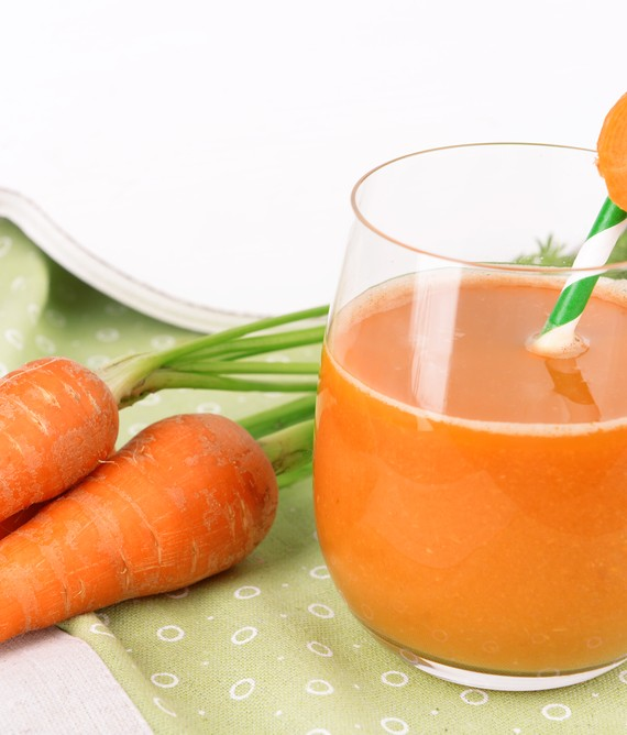 Carrot Lemon and  Coconut Juice