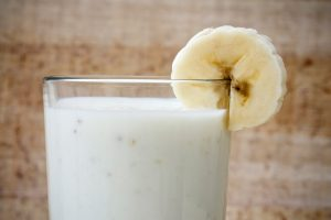 Easy Banana Coconut and Yogurt Shake Recipe