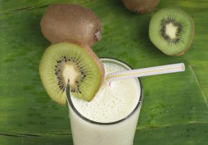 Kiwi Coconut and Banana Smoothie Recipe