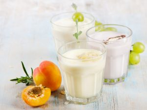 Nectarine Grape and Yogurt Smoothie Recipe