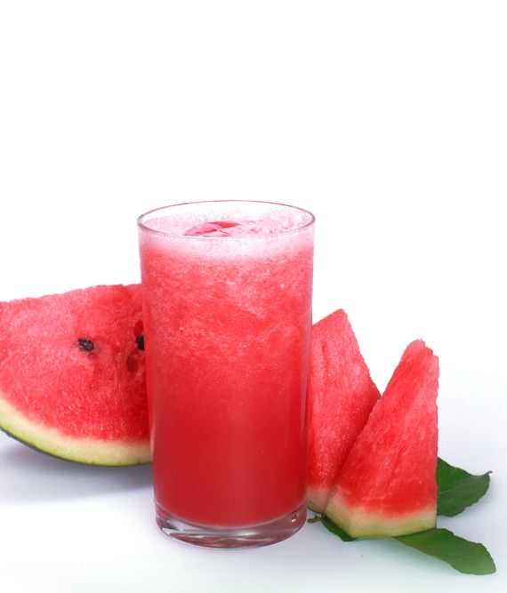 Watermelon Pear and Coconut Shake