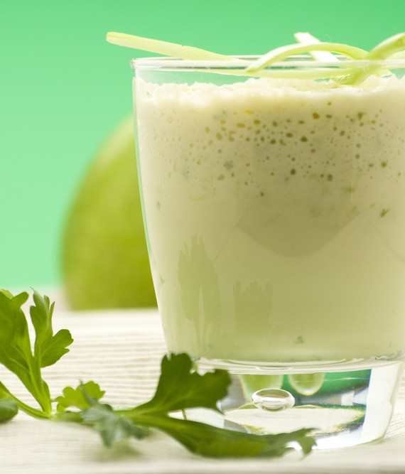 Avocado Apple and Soy Smoothie