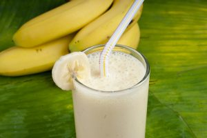 Banana Vanilla Soy Yogurt Smoothie Recipe