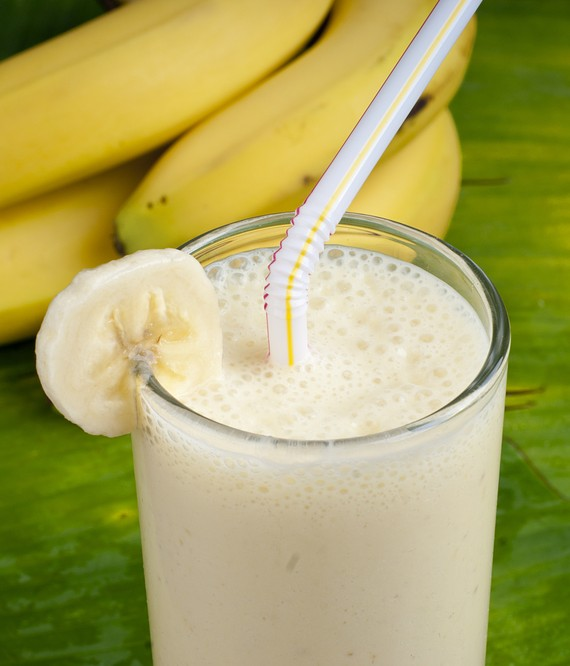 Banana Vanilla Soy Yogurt Smoothie