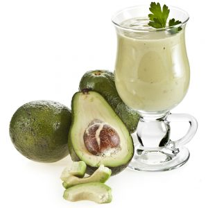 Easy Avocado Lemon and Soy Yogurt Smoothie Recipe