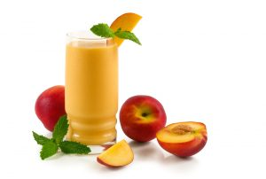 Easy Nectarine Soy and Oat Smoothie Recipe
