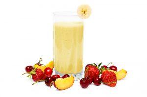 Nectarine Cherry Banana and Almond Shake Recipe