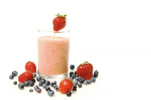 Tofu Acai Berry and Strawberry Shake Recipe