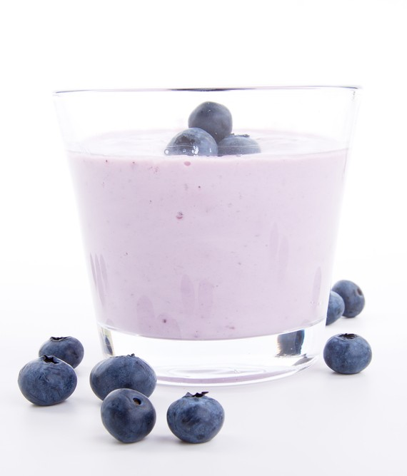 Yogurt Pear and Acai Berry Smoothie