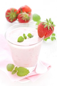 Yogurt Strawberry Soy and Hemp Seed Smoothie Recipe
