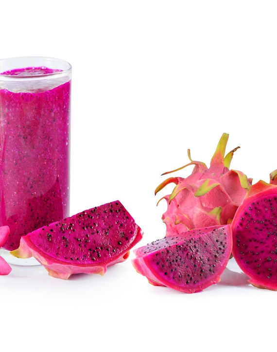 Low Fat Dragonfruit Plum Coconut  Smoothie
