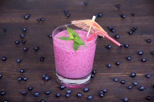 Mixed Berry Fennel and Almond Smoothie with Sunflower Seeds Recipe