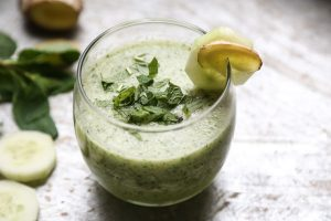 Refreshing Pineapple Banana and Coconut Cooler with Mint Recipe